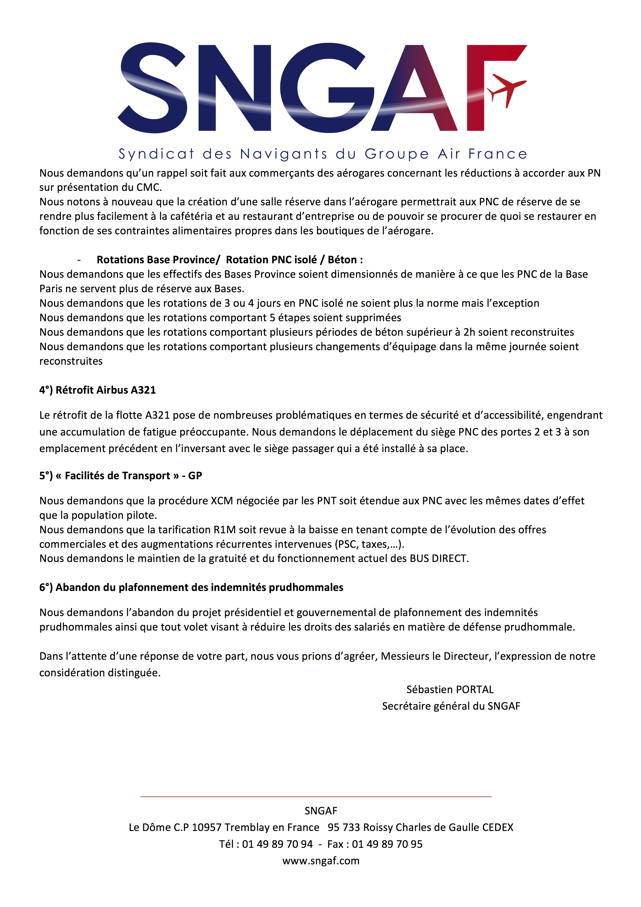 20170823 Courrier prolongation greve a compter du 1er septembre 3