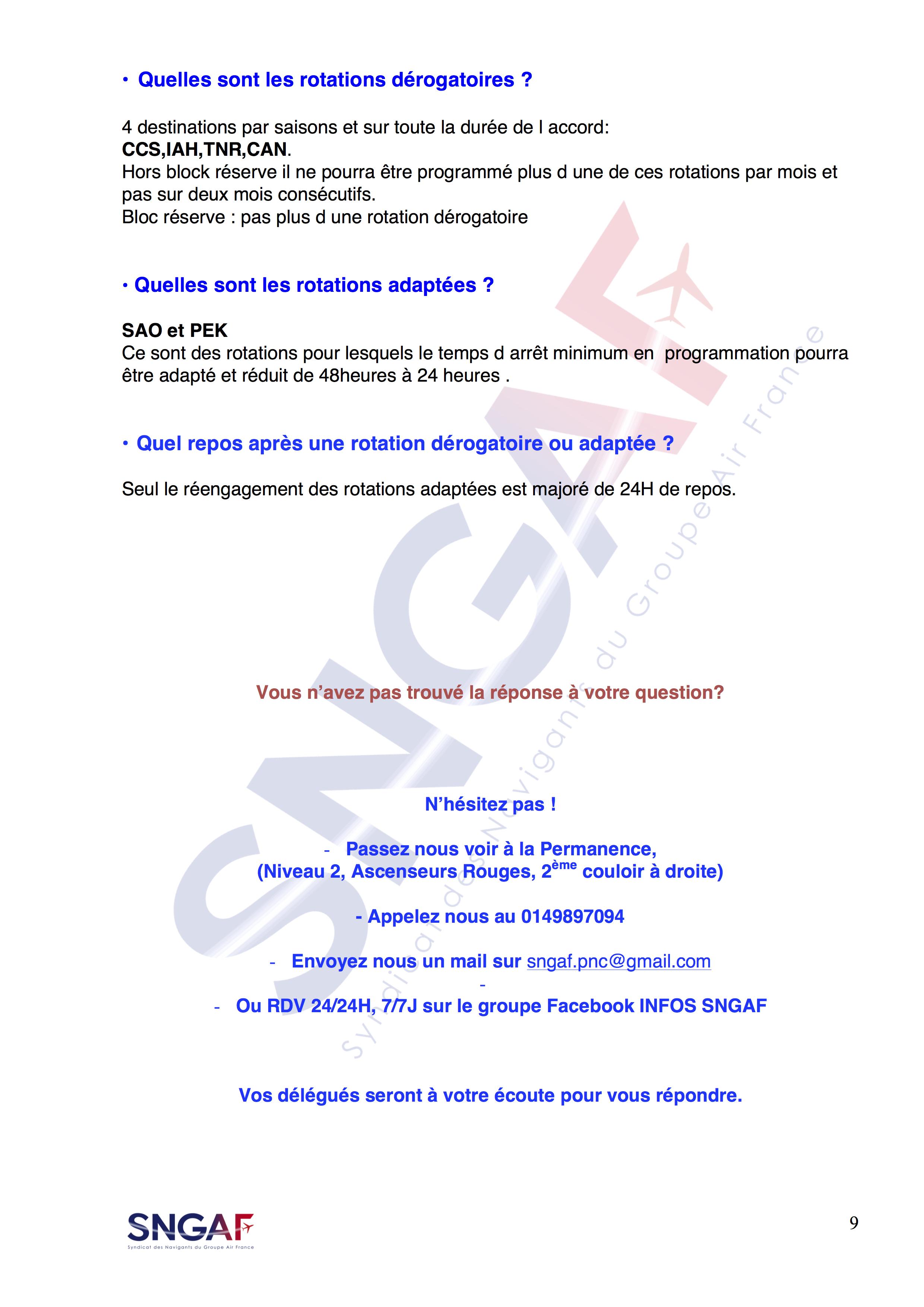 FAQ LC dernière page