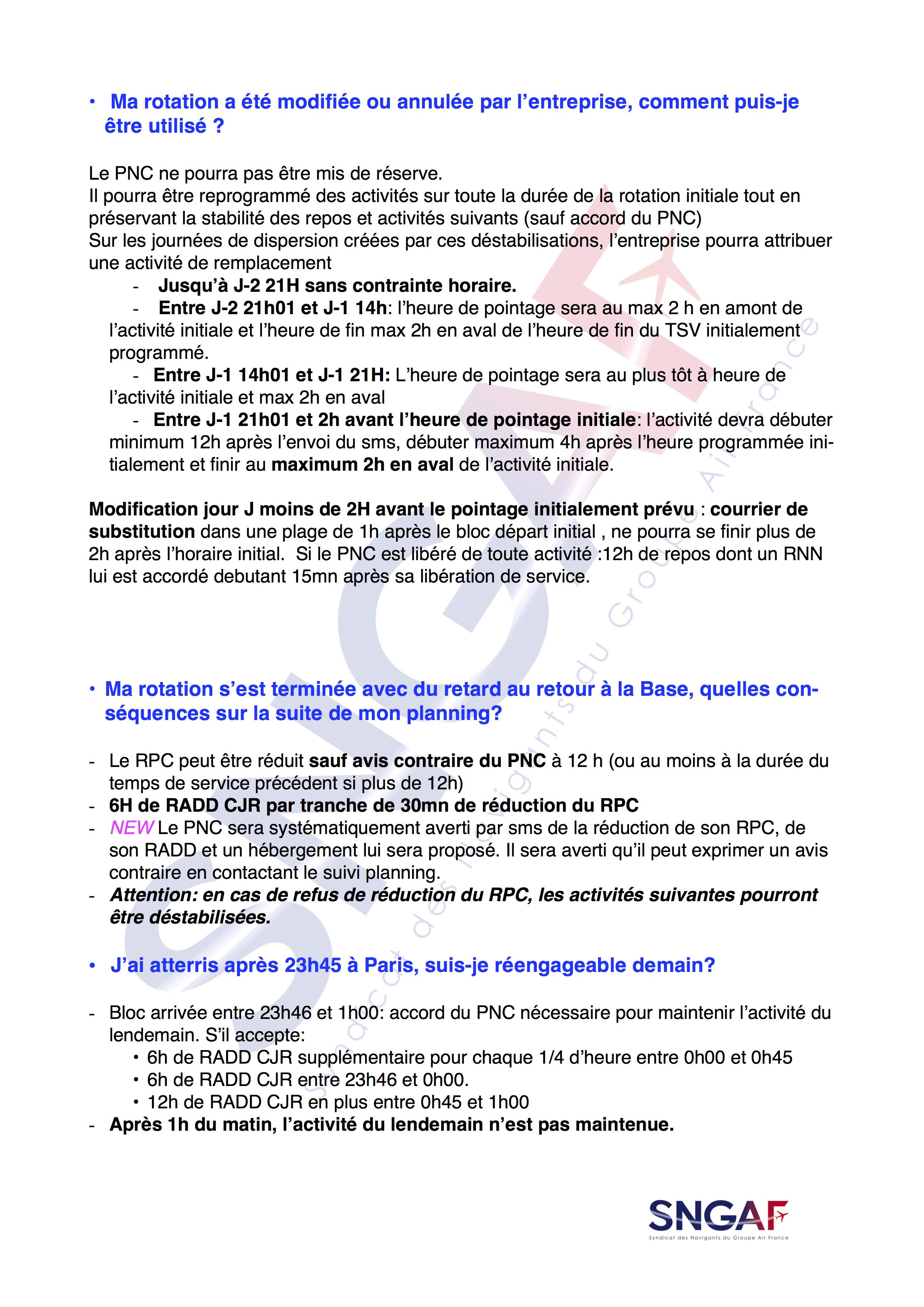 FAQ SNGAF Accord Moyen Courrier 2017-2022-12