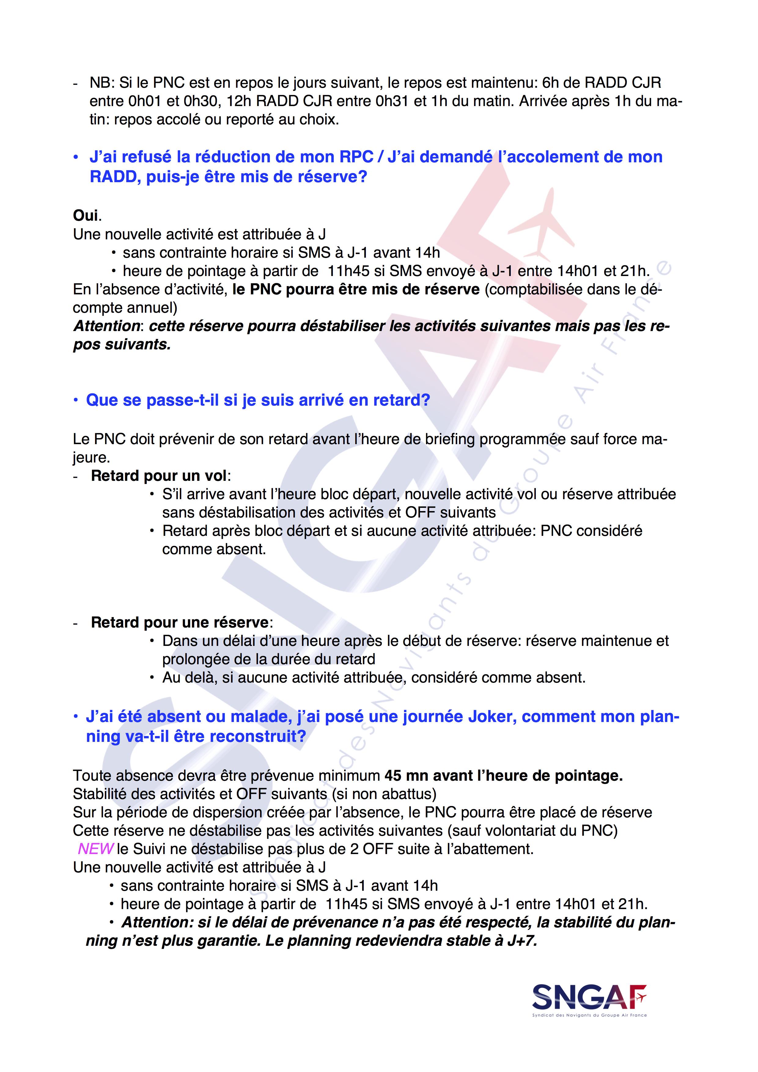 FAQ SNGAF Accord Moyen Courrier 2017-2022-13