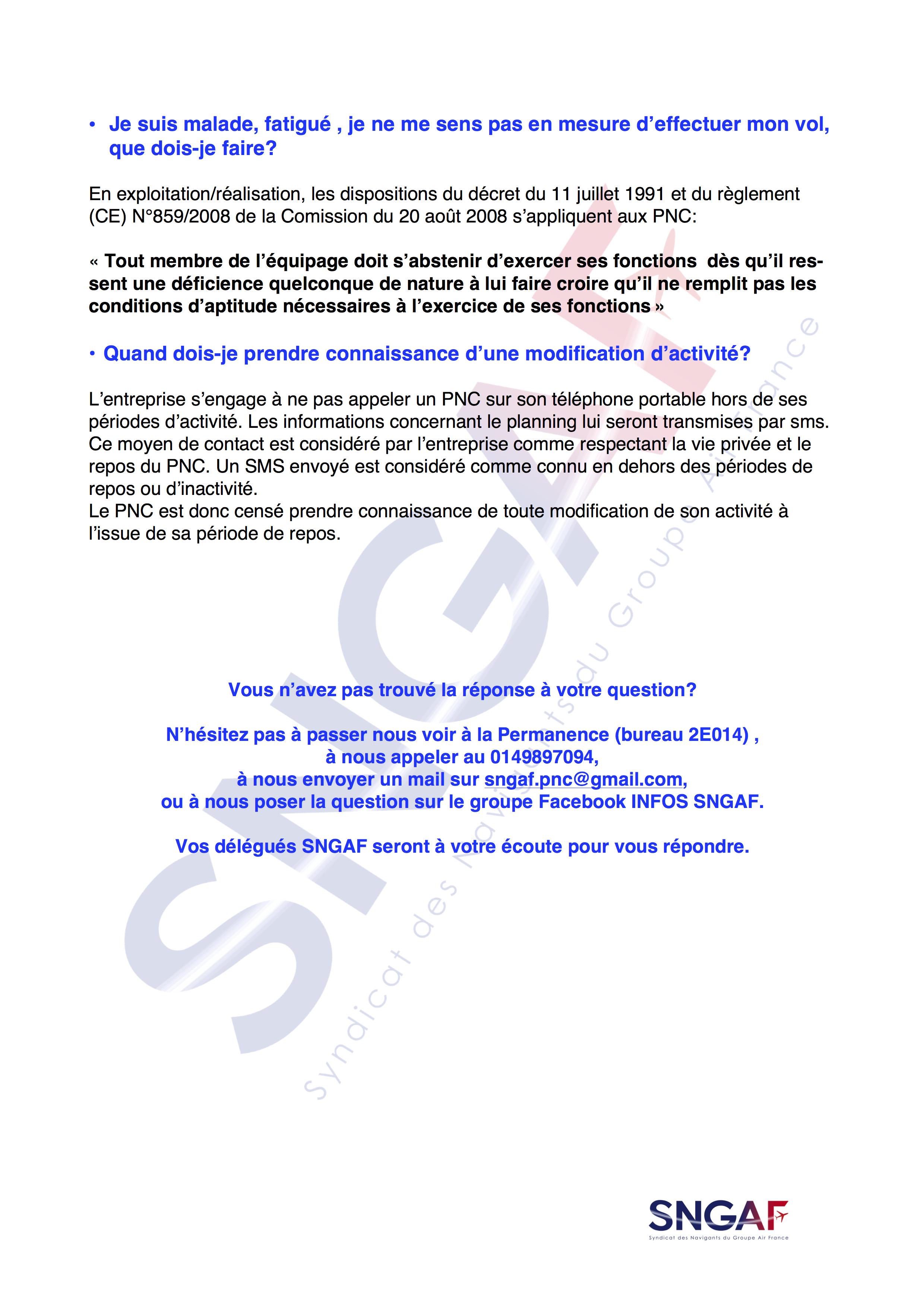 FAQ SNGAF Accord Moyen Courrier 2017-2022-14