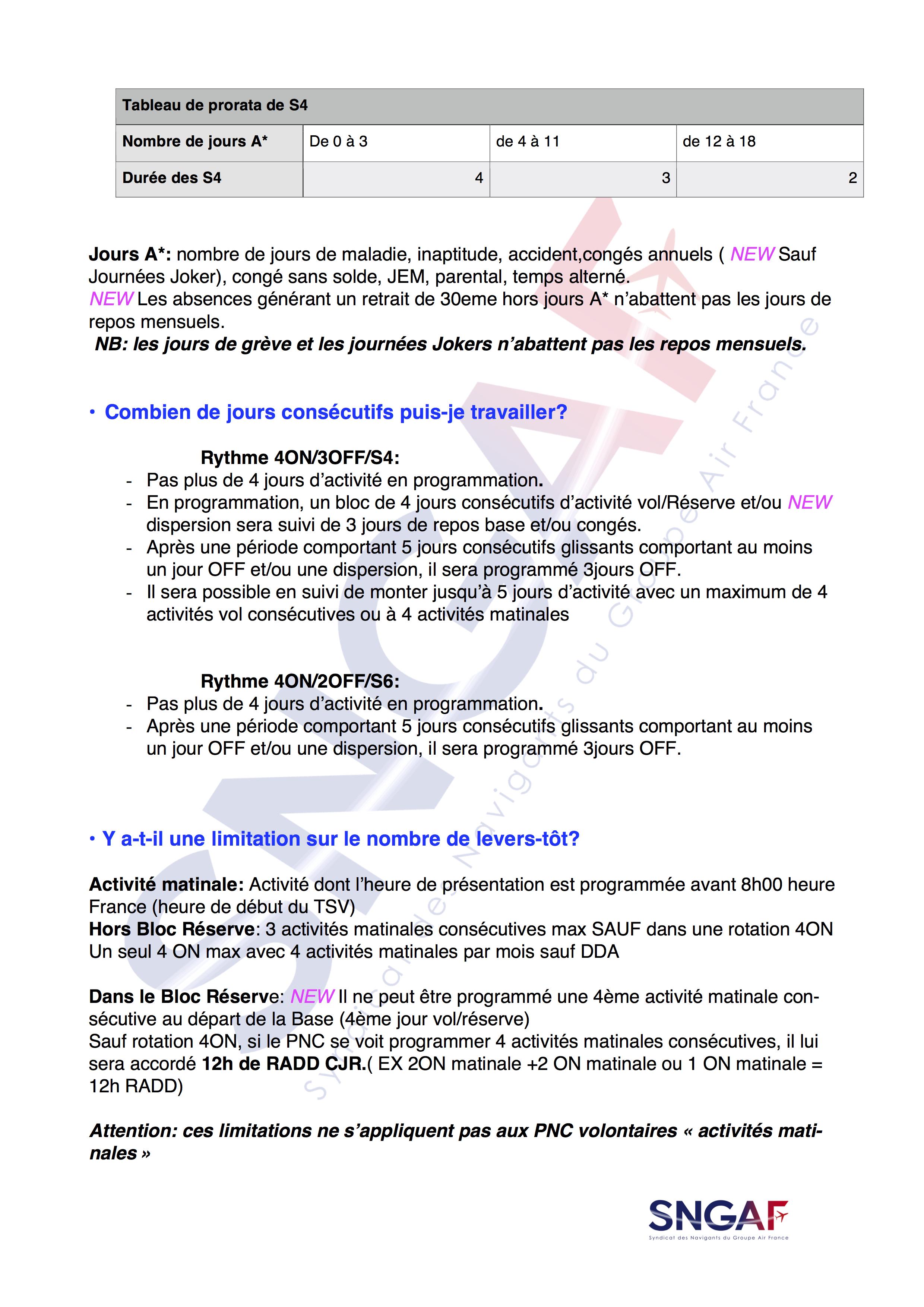 FAQ SNGAF Accord Moyen Courrier 2017-2022-3