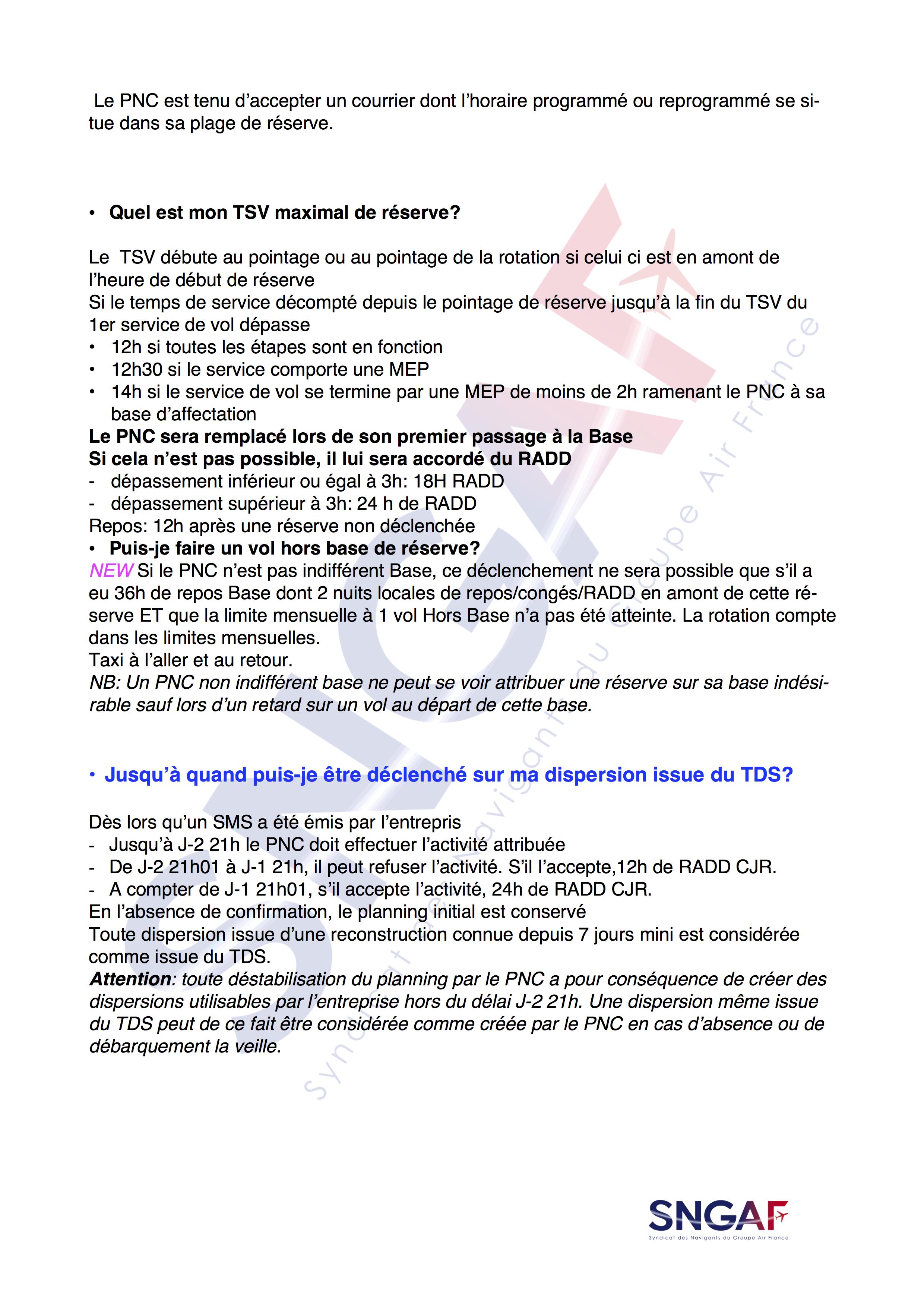 FAQ SNGAF Accord Moyen Courrier 2017-2022-9